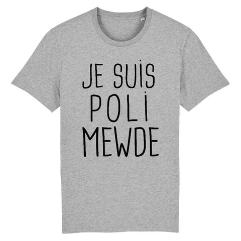 Image of mewde t-shirt homme