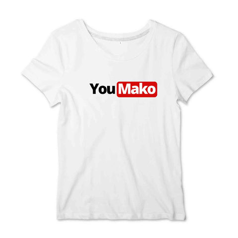Image of T-shirt Femme - You Mako