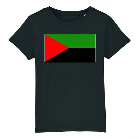Image of tshirt enfant drapeau independantiste martinique