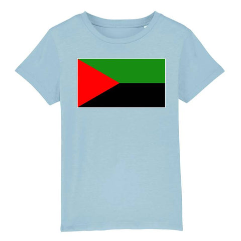 Image of tshirt drapeau independantiste martinique enfant