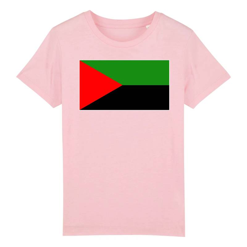 drapeau independantiste martinique t-shirt enfant
