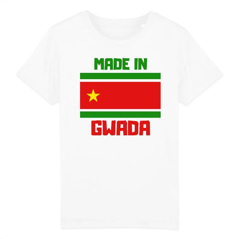 tshirt enfant made in gwada
