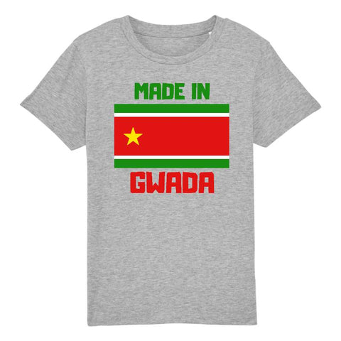 made in gwada tshirt enfant