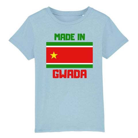 tshirt made in gwada enfant