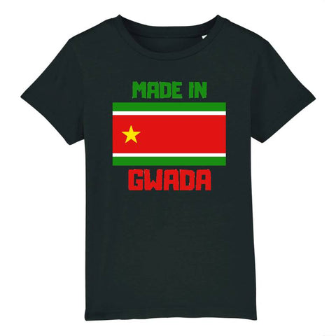 t-shirt enfant made in gwada