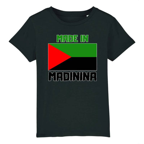 t-shirt enfant made in madinina