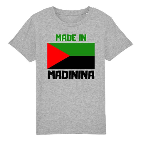 made in madinina tshirt enfant