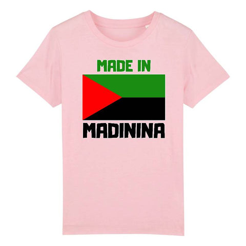 made in madinina t-shirt enfant