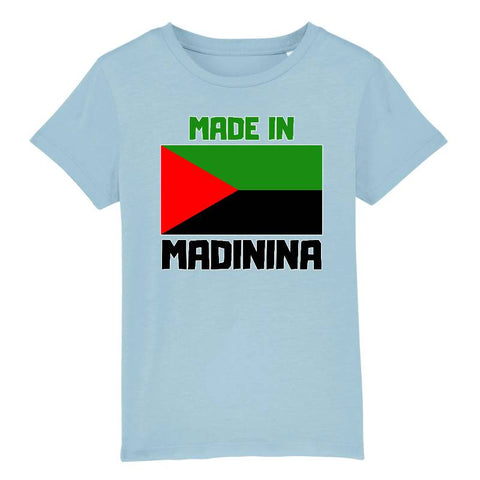 Image of tshirt made in madinina enfant