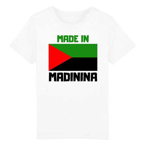 Image of tshirt enfant made in madinina