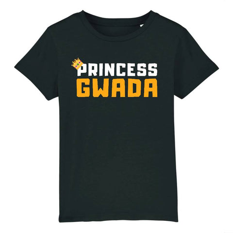 Image of t-shirt enfant princess gwada
