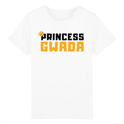 Image of tshirt enfant princess gwada