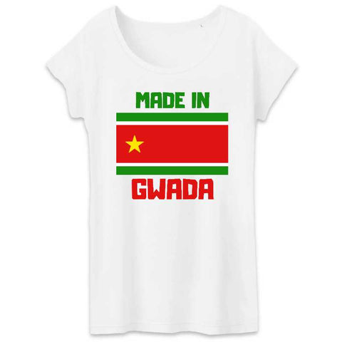 Image of t-shirt femme made in gwada