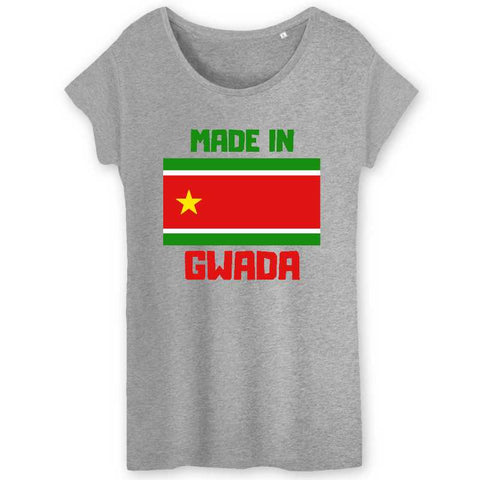 Image of made in gwada tshirt femme