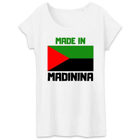 t-shirt femme made in madinina