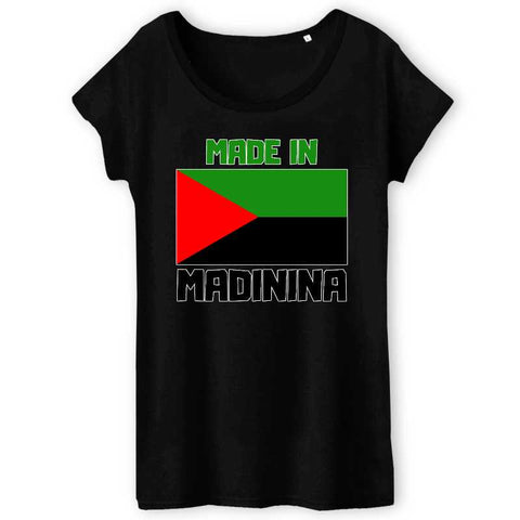 Image of tshirt femme made in madinina