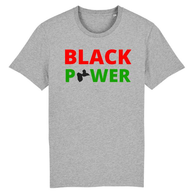 black power guadeloupe tshirt homme