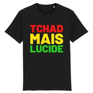 tshirt homme tchad mais lucide