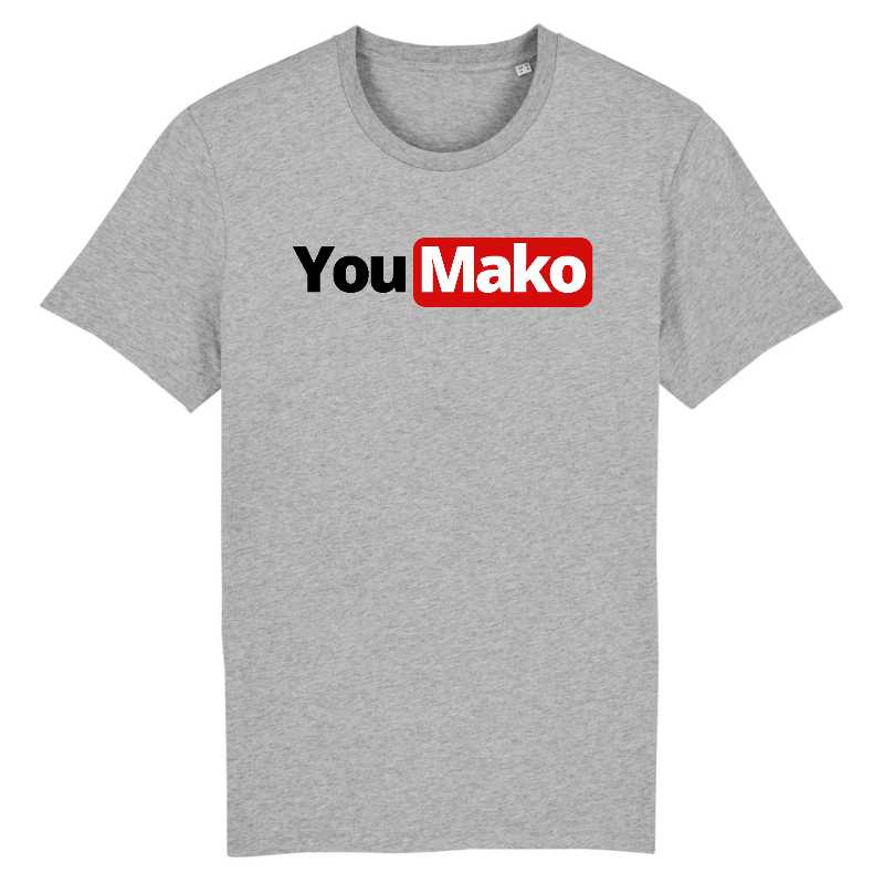 you mako tshirt homme