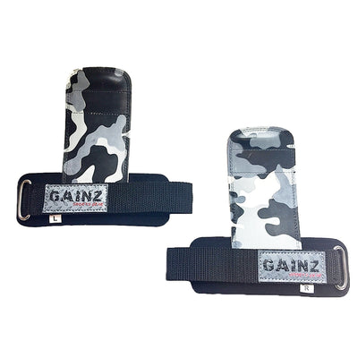 "Female Grey & Black Camo ""Load & Lock"" Grips"
