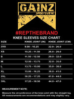 Gainz Sportsgear 7MM Knee Sleeves
