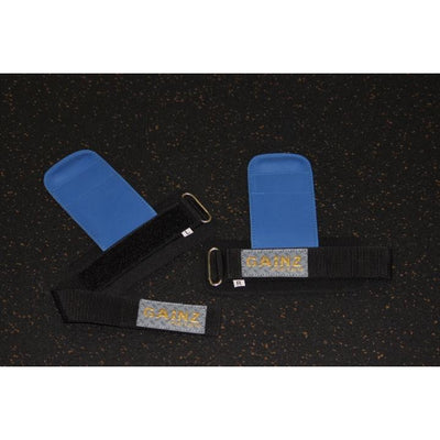 "Female Blue & Gold Gainz ""Load & Lock"" Grips"
