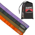 Gainz Sportsgear Long Strength Bands