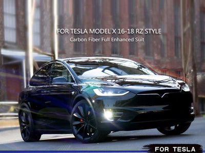 Tesla Model X CARBON FIBER WIDE BODY KIT