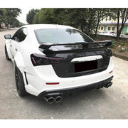 For Maserati Ghibli Sedan 4-Door 14-17 Carbon Fiber with PP Wide Body Kits
