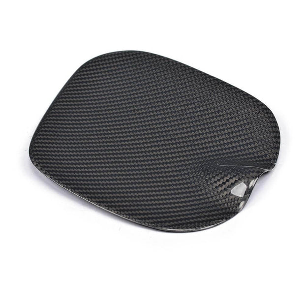For Mercedes Benz Smart Fortwo 16-19 Carbon Fiber Fuel Tank Cap