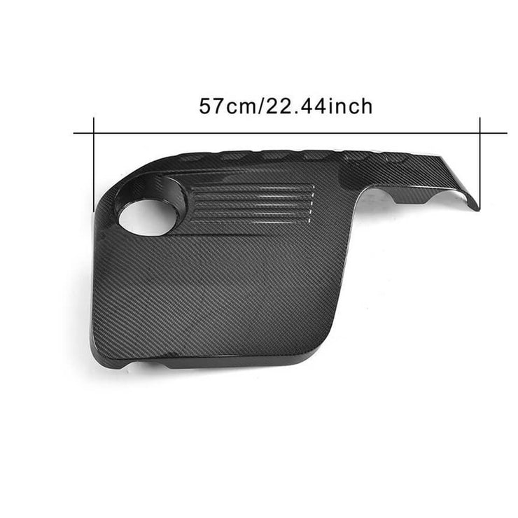 For BMW F80 M3 F82 F83 M4 14-19 Carbon Fiber Car Engine Hood Cover