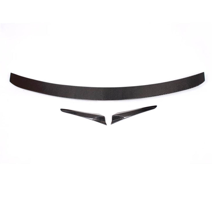 For Mercedes Benz CL Class W216 Coupe 07-14 Carbon Fiber Rear Trunk Spoiler Boot Wing Lip