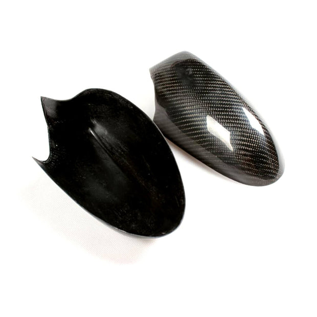 For BMW 1 Series E81 E87 E82 E88 2-Door 3-Door 5-Door Pre-LCI 05-08 Carbon Fiber Side Rearview Mirror Cover Caps Pair
