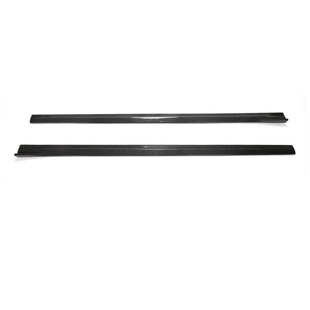 For BMW 2 Series F87 M2 M2C Coupe 16-20 Carbon Fiber Side Skirts Door Rocker Panels Extension Lip