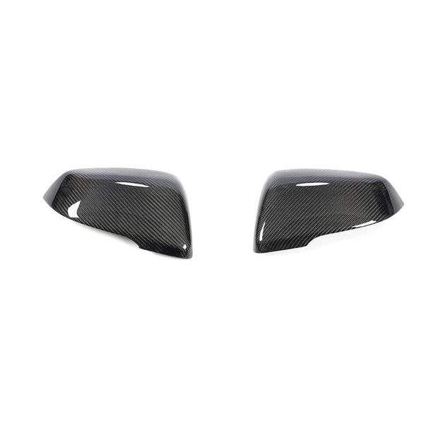 For Toyota Supra 18-20 BMW F45 F46 14-19 X1 F48 16-19 Z4 G29 18-20 Carbon Fiber Side Rearview Mirror Cover Caps Pair