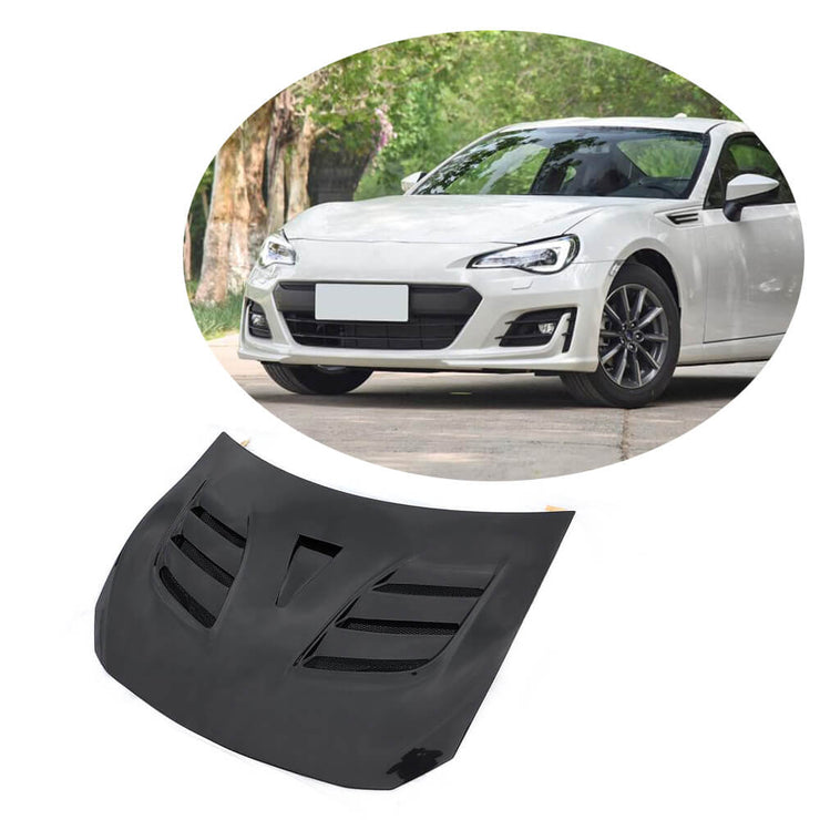 For Subaru BRZ Toyota GT86 FT86 Scion FR-S Carbon Fiber Engine Bonnet Hood Cover