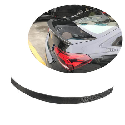 For Mercedes Benz W177 V177 Sedan 2019UP Carbon Fiber Rear Trunk Spoiler Boot Wing Lip