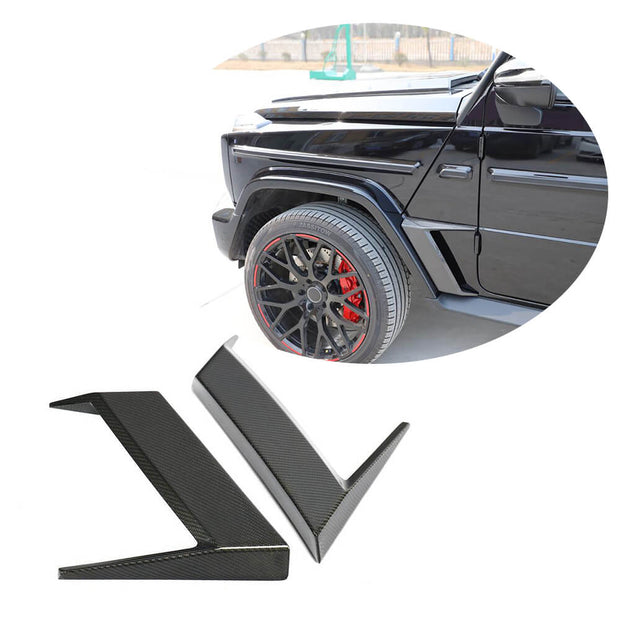 For Mercedes Benz W463 Wagon 19UP Carbon Fiber Side Vent Air Fender Canards Body Kits