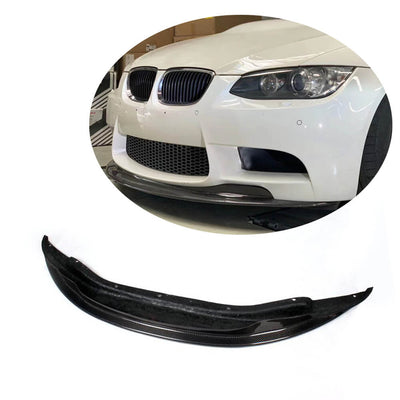 For BMW 3 Series E90 E92 E93 M3 2-Door 4-Door 08-13 Carbon Fiber Front Bumper Lip Chin Spoiler Body Kit