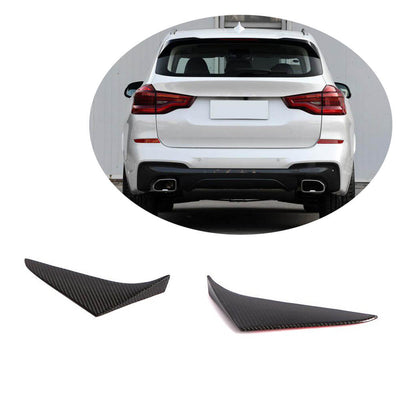 For BMW X3 G01 M40i Sport Utility 18-20 Carbon Fiber Rear Window Vent Spoiler