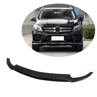 For Mercedes Benz C292 GLE550 GLE43 Sport Utility 15-19 Carbon Fiber Front Bumper Lip Chin Spoiler Body Kit