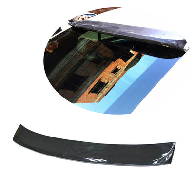 For Infiniti Q50 Q50S Sedan 14-20 Carbon Fiber Rear Roof Window Spoiler Wing Lip
