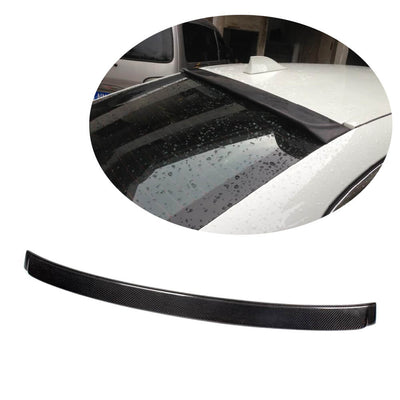For BMW 5 Series F10 Base/M Sport M5 Sedan 11-18 Carbon Fiber Rear Roof Spoiler Window Wing Lip
