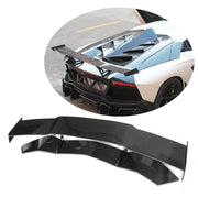 For Lamborghini Aventador LP700-4 11-16 Carbon Fiber Rear Trunk Spoiler Boot Wing Lip