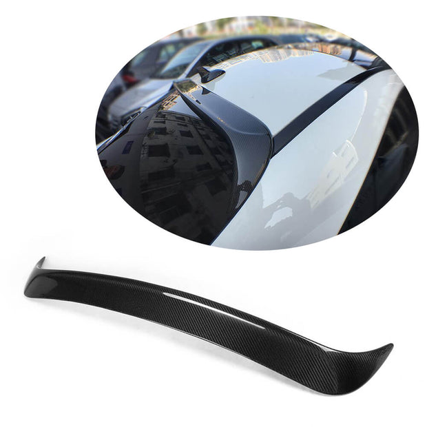 For Mercedes Benz W117 C117 Sedan 13-19 Carbon Fiber Rear Roof Spoiler Window Wing Lip