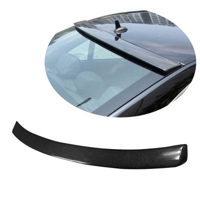 For Mercedes Benz W204 Sedan 07-14 Carbon Fiber Rear Roof Spoiler Window Wing Lip