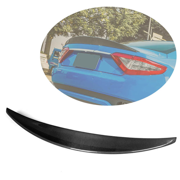 For Maserati Gran Turismo GT Coupe 08-11 Carbon Fiber Rear Trunk Spoiler Boot Wing Lip