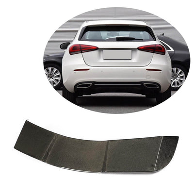 For Mercedes Benz W177 Hatchback 2019UP Carbon Fiber Rear Roof Spoiler Window Wing Lip