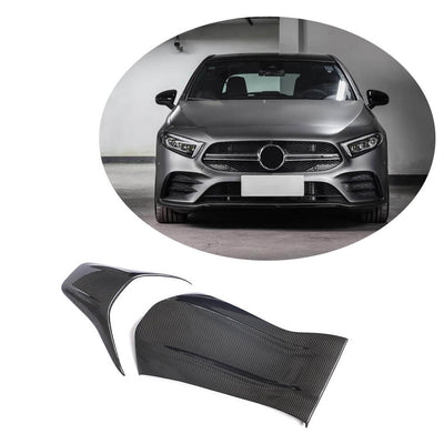 For Mercedes Benz W176 W177 V177 W205 C205 A205 C117 C118 DRY Carbon Fiber Seat Back Covers