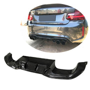 For BMW 2 Series F87 M2 M2C Coupe 16-20 Carbon Fiber Rear Bumper Diffuser Body Kit